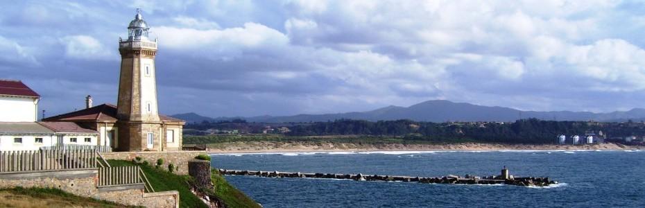 Resultado de imagen de faro de tazones asturias