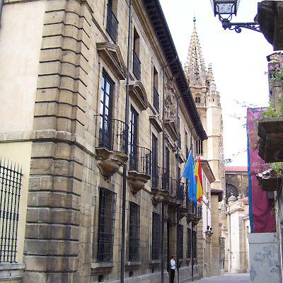 La fuente de la época del Imperio Romano encontrada en Oviedo se integrará en...